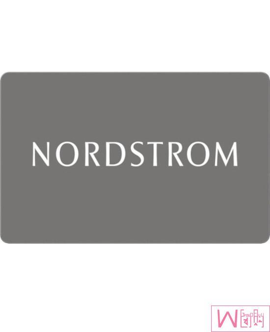 Nordstrom $25 礼品卡,超值折扣,免运费