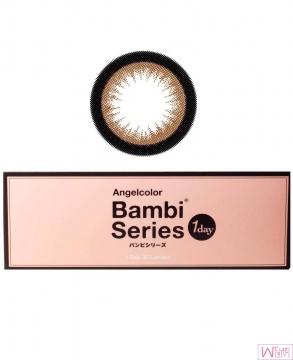 日本 Angelcolor Bambi 系列 美瞳隐形眼镜 - 杏仁色 Almond