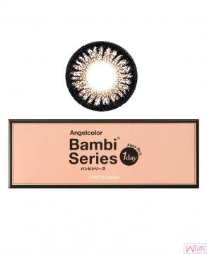 日本 Angelcolor Bambi 系列 美瞳隐形眼镜 - 巧克力色 Chocolate