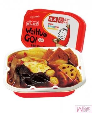 德庄懒人火锅52度高辣,冷水自热便携式方便速食自热自煮即食网红小火锅,包邮