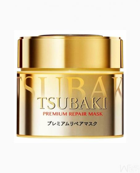 Shiseido TSUBAKI Premium Hair Repair Mask Hair Treatment 180g, 日本松本清 资生堂TSUBAKI丝蓓绮渗透修复0秒发膜金色180g,超值团购,全美包邮
