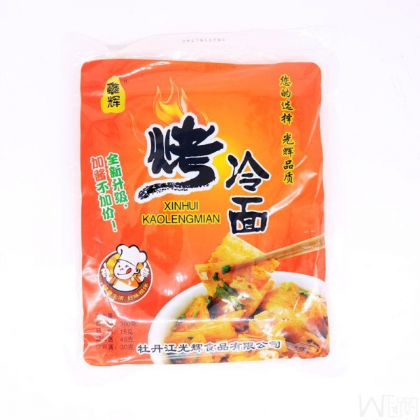China North East Xin Hui Baked Cold Noodles 460g (include 5pcs), 冬天来了,需要来点烤冷面,冷面超值团购,满10包包邮!