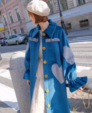 New Fashion Kookastyle Original vintage gold velvet jacket
