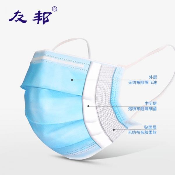 [现货] 一次性医用外科口罩灭菌 10片独立包装, 一次性口罩医用外科口罩三层透气防飞沫独立装防护用品灭菌无菌,全美包邮