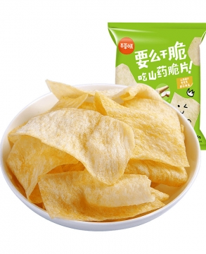 Bai Cao Wei BE&CHEERY Chinese Yam Chips Shallot / Spicy 45g x 2 bags