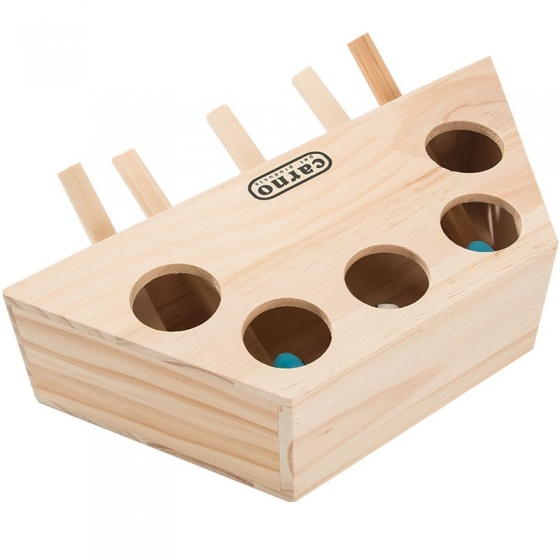 Playing cat toy ground mouse cat toy solid wood, 优选好料 健康环保 实木材质 美观耐用 细致打磨 做工细腻 可爱地鼠 萌态尽显