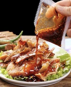 山东德州特产秦老吉麻油鸡鸡肉美食烧鸡熟食下酒菜即食500克