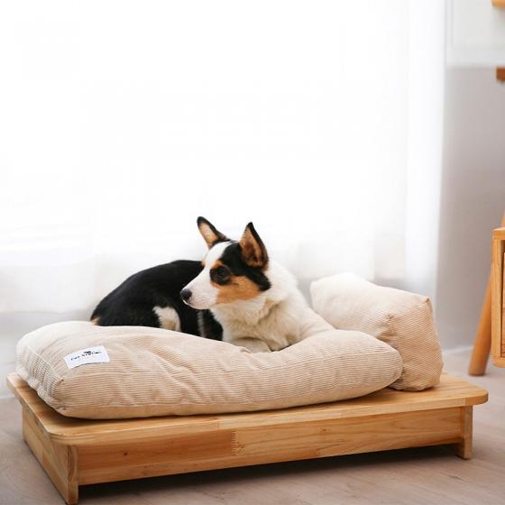 Doghouse wooden dog sofa pet sofa cat Luxury Dog chair pet furniture, 深度睡眠 爱不释手 精选板材 做工精湛 牢固耐用 便于清洁